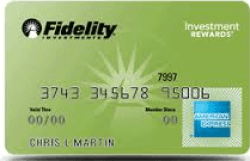 Fidelity American Express credit card Login