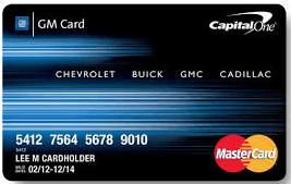 Gm Card Login