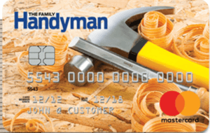 Family Handyman Rewards Mastercard