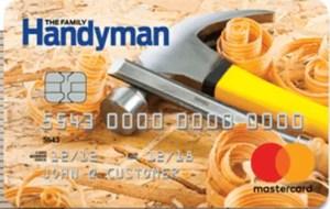 Family Handyman Rewards Mastercard