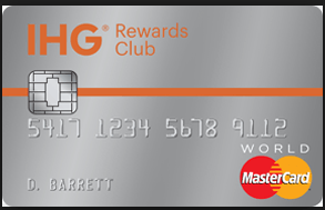 IHG Rewards Club Select Credit Card
