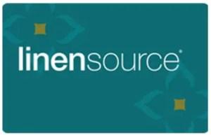 Linensource Credit Card
