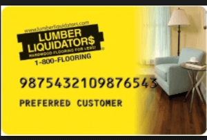 Lumber Liquidators Credit Card