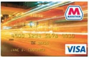 Marathon Gas Credit Card