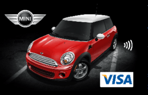 Mini Visa Credit Card