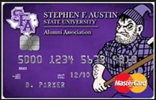 Stephen F. Austin Alumni MasterCard