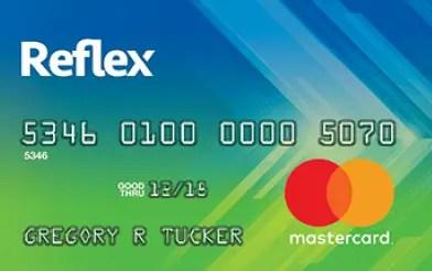 reflex credit card