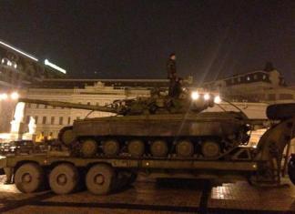 В Киев стянули российскую технику