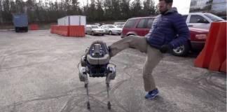 Робот Google умеет держать удар