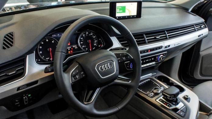 Audi Q7 с системой Android Auto