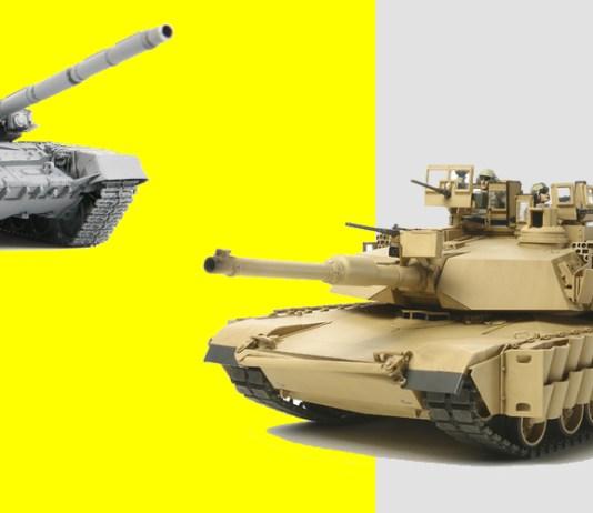 Американский Абрамс против российского Т-90