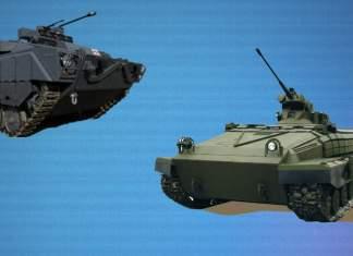 Сравнить БМП: Лазика и БМПТ-64