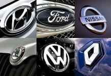 Самые популярные автомобильные бренды