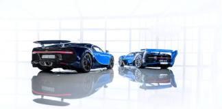Bugatti: Chiron и Vision GT