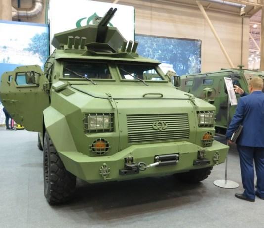 Бронеавтомобиль Барс-8, Украина