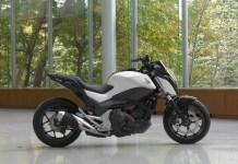 Самобалансирующий мотоцикл Honda NC