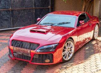 Самодельный спорткар, собранный в Южной Африке