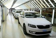 Сборка автомобилей Skoda на заводе «Еврокар», Украина