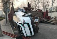 Tesla Model X разбили при транспортировке