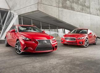 Lexus IS 350F Sport vs Infiniti Q50S