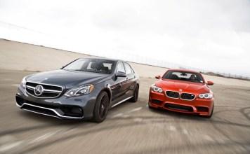 Mercedes E63 и BMW M5