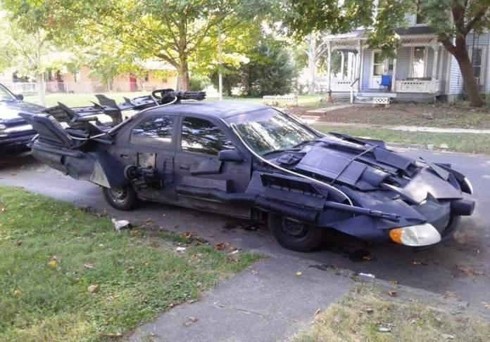 Бэтмобиль из Toyota Camry