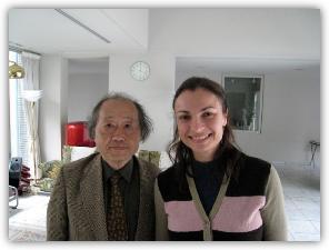 With Tohru Ogawa, Kyoto