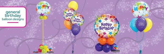 Cardiff Balloons Offers Birthday Balloon Designs