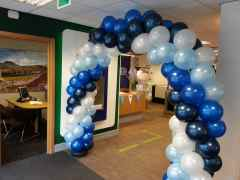 Spiral Balloon Arch By Cardiff Balloons