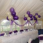 Pontypridd balloon decor