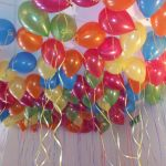 Swansea balloon decor