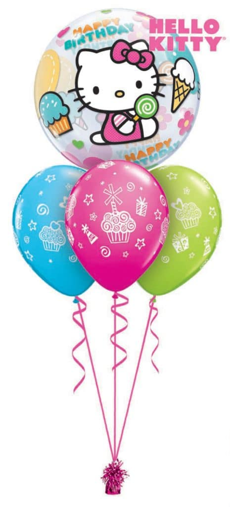 Hello Kitty Birthday Bubble Layer Image