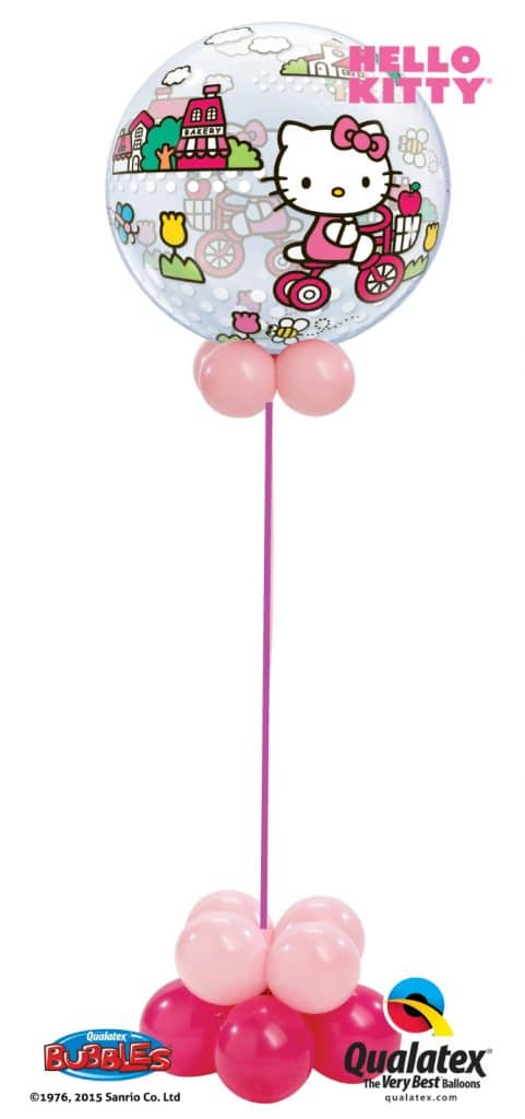 Hello Kitty Bubble Image