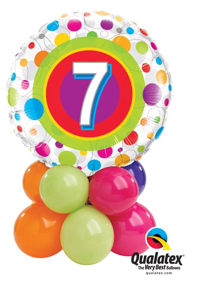 7 Colourful Dots Mini Image