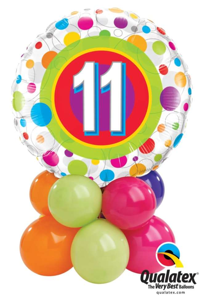 11 Colourful Dots Mini Image