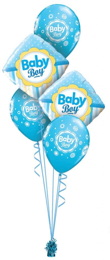 Baby Boy Dots & Stripes Classic Image