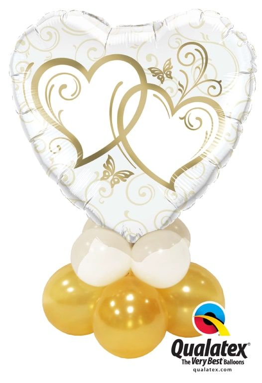 Entwined Hearts Gold Mini Image