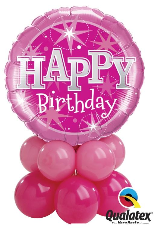 Birthday Pink Sparkle Mini Image