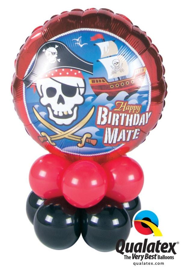Birthday Pirate Mini Image