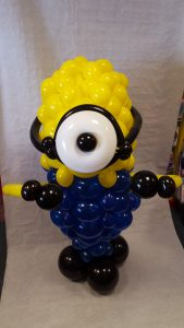 Minion Balloon From Cardiff Balloons