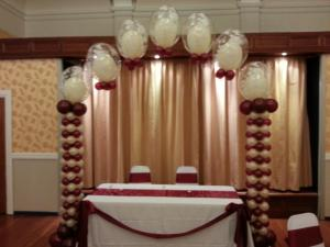 Heavenly Bubble Arch. Elegant and Simplicity at its best