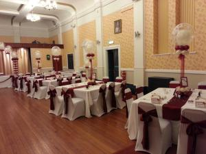 Excellent Butterfly Effect used as Table Decorations for a wedding at Barry Masonic Hall By Cardiff Balloons