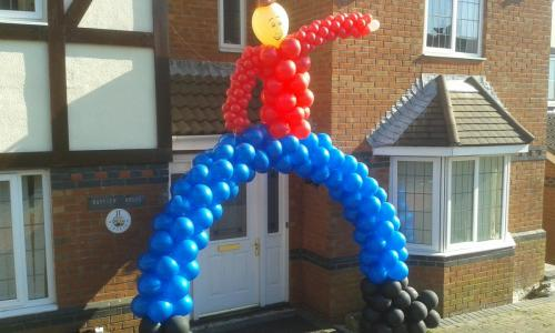 Cowboy Arch. Available From Cardiff Balloons