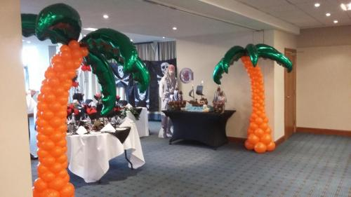 Giant Palm Trees. These Palm trees were for a wedding at The Holiday Inn Cardiff