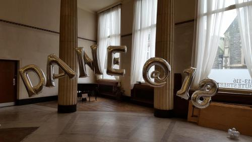 Giant Letters. We can Spell Anything You Wish