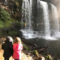 A trip to Sgwd yr Eira Waterfall, Brecon Beacons