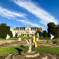 Exploring the 12 Days of Christmas trail at Dyffryn Gardens