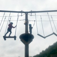 Facing my fears on the CoedLan high ropes at St Fagans National Museum of History Cardiff – plus win two tickets!