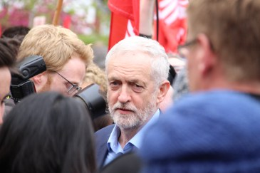 Jeremy Corbyn on Whitchurch common