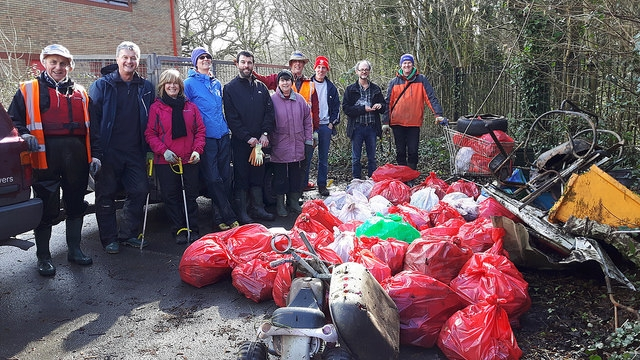CRG volunteers at Pentwyn
